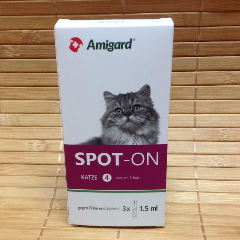 Amigard Spot on für Katzen