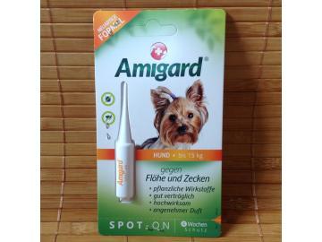 Amigard Spot on für Hunde bis 15 kg