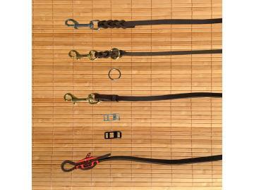 Konfigurator für Hundeleinen Fettleder 10 mm
